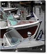 Century Boats Acrylic Print