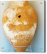 Ceramic Pot From Olympia. Acrylic Print