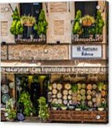 Ceramic Shop - Toledo Spain Acrylic Print