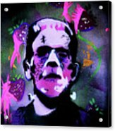 Cereal Killers - Frankenberry Acrylic Print