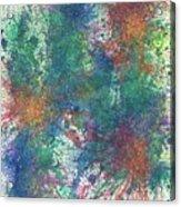 Cerebral Rhapsody During A Neurofeedback #581 Acrylic Print