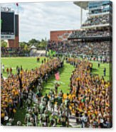 Ceremonial Running Of The Baylor Line Acrylic Print