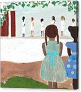 Ceremony In Sisterhood Acrylic Print