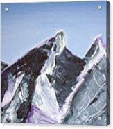 Cerro De La Silla Of Monterrey Mexico Acrylic Print
