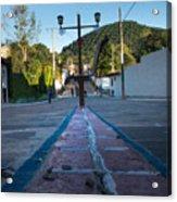 Cerro De Las 3 Cruces - Apaneca 4 Acrylic Print