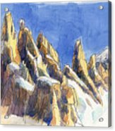 Cerro Torre, Patagonia Acrylic Print
