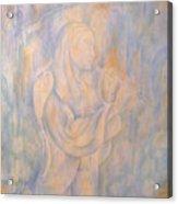 Cerulean Melody Acrylic Print