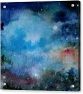 Cerulean Space Clouds Acrylic Print