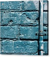 cerulean wall II Acrylic Print