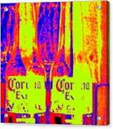 Cerveza Por Dos  Acrylic Print