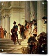 Cesare Borgia Leaving The Vatican Acrylic Print