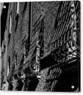 Cesena In Black And White Acrylic Print