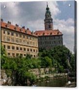 Cesky Krumlov Castle Acrylic Print