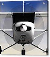 Cessna 152 Flying High Acrylic Print