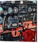 Cessna Cockpit Acrylic Print