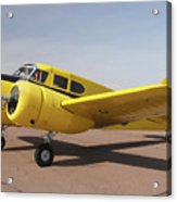 Cessna T-50 Bobcat N59188 Casa Grande Airport Arizona March 5 2011 Acrylic Print