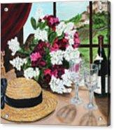 C'est Le Temp Pour Le Vin Acrylic Print