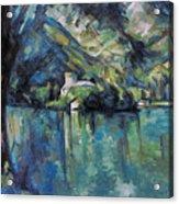 Cezanne: Annecy Lake, 1896 Acrylic Print