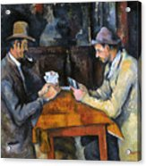 Cezanne: Card Player, C1892 Acrylic Print