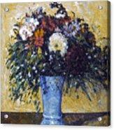 Cezanne: Flowers, 1873-75 Acrylic Print