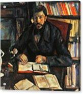 Cezanne: Geffroy, 1895-96 Acrylic Print