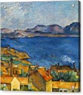 Cezanne Marseilles 1886-90 Acrylic Print