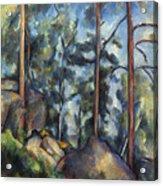 Cezanne: Pines, 1896-99 Acrylic Print