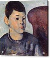 Cezanne: Portrait Of Son Acrylic Print