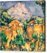 Cezanne: Sainte-victoire Acrylic Print