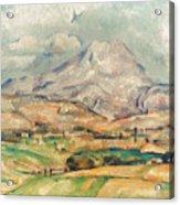 Cezanne: St. Victoire, 1897 Acrylic Print