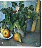 Cezanne: Still Life, C1888 Acrylic Print
