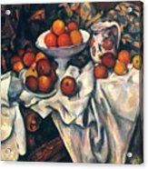 Cezanne: Still Life, C1899 Acrylic Print