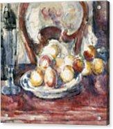 Cezanne: Still Life Acrylic Print