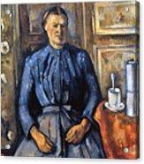Cezanne: Woman, 1890-95 Acrylic Print