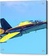Cf-18 Hornet Acrylic Print