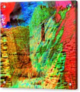 Chaco Culture Abstract Acrylic Print