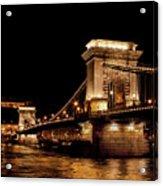 Chain Bridge - Budapest Acrylic Print