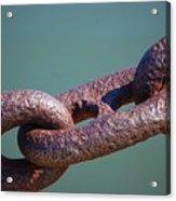 Chain Chain Chain Acrylic Print