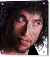 Chained To The Sky -  Bob Dylan  Acrylic Print