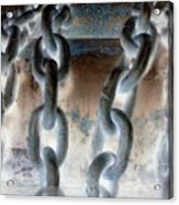 Chains - Nagative Acrylic Print