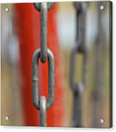 Chains Abstract 3 Acrylic Print