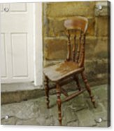Chair And The Door Acrylic Print