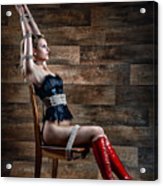Chair Bondage - Fine Art Of Bondage Acrylic Print