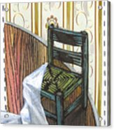 Chair Iv Acrylic Print by Peter Allan