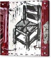 Chair V Acrylic Print