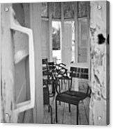 Chairs And Doors  Acrylic Print