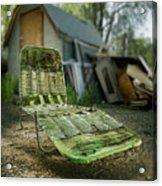 Chaise Lounge Acrylic Print