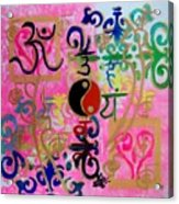 Chakra Empowerment Acrylic Print