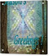 Chalice-tree In The Forest V2 Holiday Card Acrylic Print