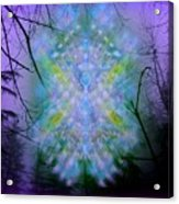 Chalice-tree Spirit In The Forest V1a Acrylic Print